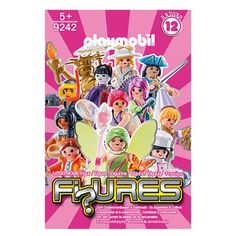 Playmobil 9242 Fi?ures Mystery Action Figures Girls Series 12 6-Pack Playmobil Playmobil Action Figures