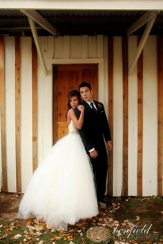 Arkansas wedding outdoor portraits by Benfield Photography