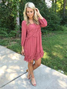 Best Kept Secret Dress - Marsala