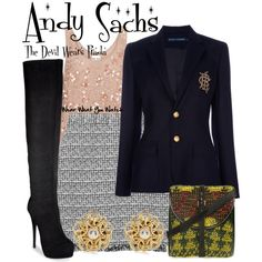 """Inspired by Anne Hathaway as Andrea """"Andy"""" Sachs in the 2006 comedy drama The Devil Wears Prada."""