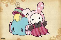 Sentimental Circus Sentimental Circus, Cartoon Town, Nyan Nyan, Hello Sanrio, Circus Party, Creepy Cute, Note Paper, Little Princess, Hello Kitty