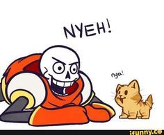Papy & Kitten - nya vs. NYEH!