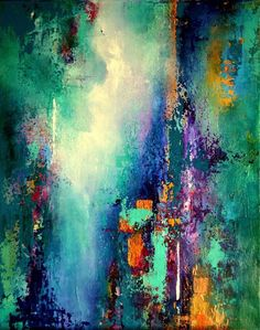 Another photo that contains multiple words: Abstract, Teal, and even some copper. The abstract photos needed to show no resemblance of any real imagery as well. Pintura Graffiti, Fine Art, Abstract Canvas, Abstract Photos, Canvas Art, Abstract Expressionism, Painting Inspiration, Modern Art, Art Drawings