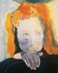 Marlene Dumas, The artist's self-portrait Het Kwaad is Banaal (Evil is Banal), 1984 Marlene Dumas, Eindhoven, Art And Illustration, Figure Painting, Painting & Drawing, L'art Du Portrait, Figurative Kunst, Kunst Online, South African Artists