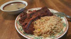 Short Ribs Beef Fajitas Rice and Beans [OC] http://ift.tt/2edB0VM