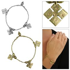 Ethiopian Yabe Cross Bracelet at Global Girlfriend