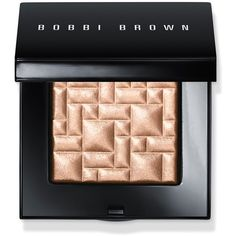 Bobbi Brown Highlighting Powder ($46) ❤ liked on Polyvore featuring beauty products, makeup, face makeup, face powder, beauty, pink glow, highlight face makeup and bobbi brown cosmetics