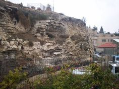 Visit the Hill of Golgatha where Jesus gave His life for us. Golgatha means skull and if you look into the side of the Hill, you can see the skull.