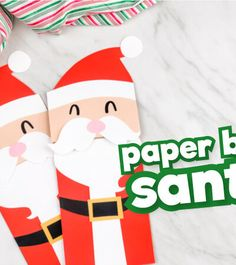 You searched for Santa letters - Simple Everyday Mom Santa Crafts, Holiday Crafts For Kids, Christmas Letter From Santa, Santa Template, Paper Bag Crafts, Headband Crafts, Paper Bag Puppets, Puppet Crafts, Letters