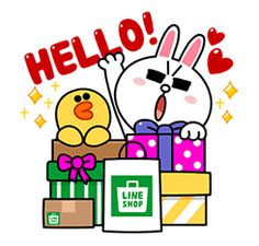 LINE SHOP: Shopping with LINE Characters - http://www.line-stickers.com/line-shop-shopping-with-line-characters/