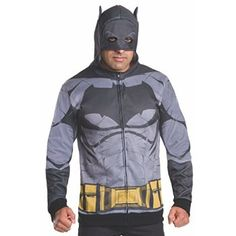 #Christmas Shop online Rubie's Men's Batman v Superman: Dawn of Justice Batman Costume Hoodie, Multi, X-Large for Christmas Gifts Idea Deals . Obviously one of several exceptionally attractive tackle would be the emotion that when you take a seat generally there comfortably inside your couch, pot connected with their tea handy, anyone have a...