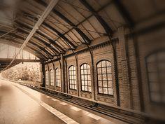 S-Trainstation on a Sunday Morning in Berlin, Germany | S-Bahnhof an einem Sonntagmorgen in Berlin | MARCO POLO User editha