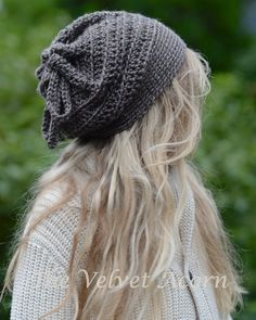 CROCHET PATTERN-The Soul Secrets Cap/Cowl by Thevelvetacorn