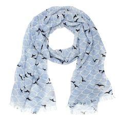 kate spade | birds over arches scarf