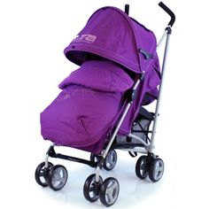 Baby Stroller Zeta Vooom Hearts And Stars Complete Plum Wrapped With Its Beautiful Looks Full Of Amazing Features And Highest Quality You Will Be Amazed. We Have Designed And Built Our Zeta Vooom! Parent View Window Built In The Hood. Maclaren Pushchair, Lila Baby, Best Baby Strollers, Prams And Pushchairs, Purple Baby, Adjustable Legs, Traveling With Baby, Hand Warmers
