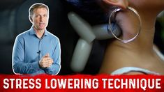 The Ultimate Stress Lowering Technique Dr Eric Berg, Dr Berg, Mental Health And Wellbeing, Health And Wellness, Massage Tools, Hormone Balancing, Cortisol, Acupressure, Physical Therapy