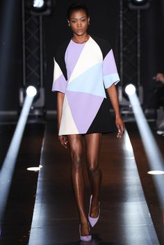 Fausto Puglisi Fall 2014 Ready-to-Wear Fashion Show - Betty Adewole