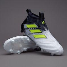 2930e39bae adidas ACE 17.1 Primeknit FG - Mens Boots - Firm Ground - BB5957 - Clear  Grey White Core Black