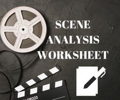 An A3, editable, worksheet that encompasses all assessment criteria and aspects of analysis for close viewing a movie or scene. ...