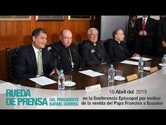 Declaración del Presidente Rafael Correa por motivo de la visita del Pap...
