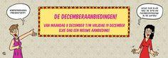 Aankondiging Decemberaanbiedingen (december 2014)