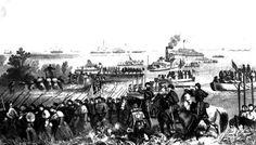 Battle of Shiloh Battle Of Shiloh, American Civil War, Troops, Civilization, Dolores Park, Island, Drawings, Travel, America Civil War