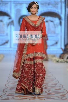Sharara -- revival of gorgeous old world charm and Lucknow nostalgia. I want one!