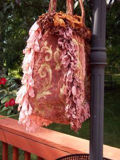magnolia pearl bags | Magnolia Pearl Lavish Velvet Ribbons Handbag Purse | eBay