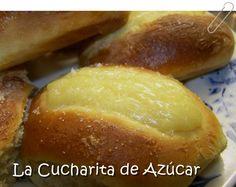 La cucharita de azúcar: Panes dulces rellenos con crema
