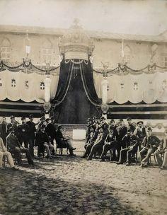 La posa della prima pietra del Vittoriano