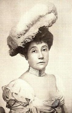 """Marian """"Mamie"""" Fish (1853-1915) was one of the leading hostesses in Gilded Age NY and was one of the women who took over as a society leader after the death of Mrs. Astor.  She was malicious and tart-tongued and often disregarded etiquette.  While some of her entertainments were novel, some were simply vulgar.  She once gave a dinner for a prince that turned out to be a monkey dressed in white tie.  While Mrs. Astor never gave a press interview, Mamie Fish courted them for the publicity."""