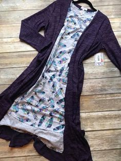 These were made for each other Large Purple Sarah with a Small Feather Carly. It has the most amazing colors. Join my VIP group to shop all my Lularoe styles and size. https://www.facebook.com/groups/LuLaRoeLoriandHaley/ #OOTD #LulaRoe