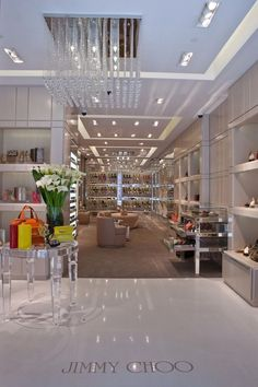 Jimmy Choo store in San Francisco - I want this to be my closet!