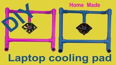 How To Make Laptop Cooling Pad or Note Book Cooling Stand Requirements: 3/4th inch PVC Pipe Elbows 3 Way Connectors 5v CPU Cooling Fan USB Cable Make It If Y... Pvc Pipe Projects, Projects To Try, Laptop Cooling Stand, Laptop Cooler, Diy Laptop, Diy Hacks, Creative Ideas, Cable, Usb