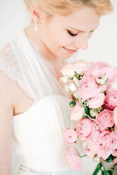 Pink ranucculus bouquet