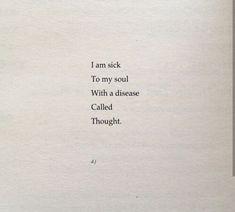 Soul sickness