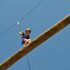 Whoa! Who put my very 8 years old up there??!!!  #happycamper #aspendeafcamp @aspencamp