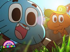 The Amazing World of Gumball Wallpaper: Gumball and Darwin Watch Cartoons, Cool Cartoons, Funny Phone Wallpaper, Cartoon Wallpaper, Gumball Image, Best Cartoon Series, Amazing Gumball, Desenhos Cartoon Network, Cartoon Network Shows