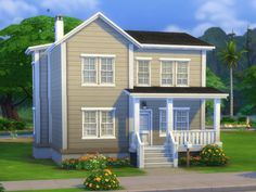 Bolzenschneider house by plasticbox at Mod The Sims via Sims 4 Updates