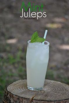 I'm so excited I've found a non-alcoholic Mint Julep recipe. The KYDerby may be over but, calm and stay classy always!