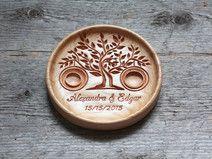Ringkissen Alternative aus Eiche Holz