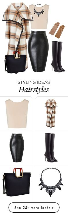 """outfit 2875"" by natalyag on Polyvore featuring Causse, Alice + Olivia, Joseph, Dasein and Ralph Lauren Collection"