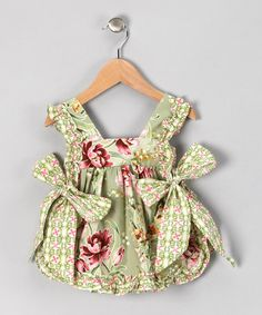 Take a look at this Splendor Suzy Q Apron - Infant by asd living on #zulily today!