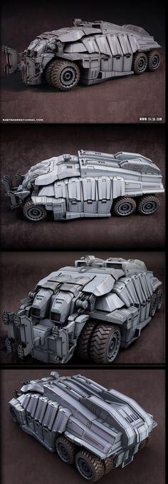 High Poly Vehicle - Rabitagore - Final | Eat 3D