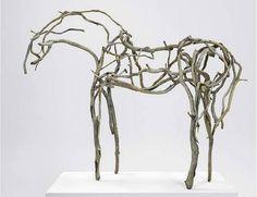 Deborah Butterfield - driftwood sculpture