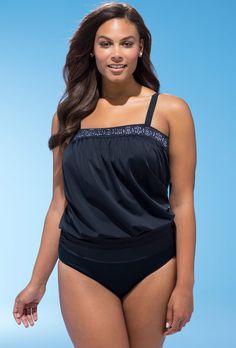 c0ef7c6321973 Rendezvous Blouson Tankini Swimsuits For All