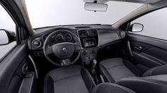 Renault Logan - Volante y asiento del conductor de altura ajustable