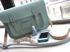 cambridge satchel company ltd edition satchel in pastels