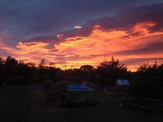 Sunrise at Vintners Retreat, autumn 2013