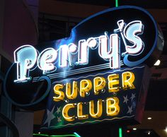 perrys neon sign